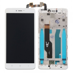 For Xiaomi Redmi Note 4X / Note 4 Global Version LCD Display Touch Screen Digitizer Assembly With Frame White