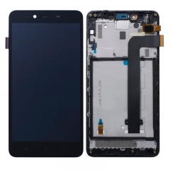 For Xiaomi Redmi Note 2 LCD Display Touch Screen Digitizer Assembly With Frame Black
