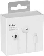 New Original Earpods Lightning Connetor With Retail Box