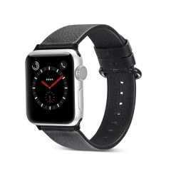 For Apple Watch 38mm 42mm Color Buckle Leather Watch Band