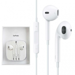 For iPhone New Original EarPods Earphones 3.5 mm Jack With Box