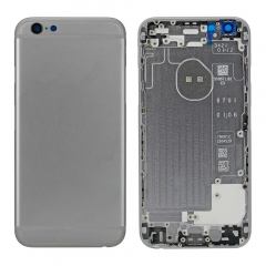For iPhone 6 Back Housing Cover With Side Buttons & Card Tray - Grey