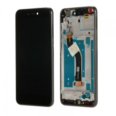 For Huawei P8 / P9 Lite 2017 LCD Screen and Touch Digitizer Assembly With Frame Black
