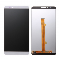 For Huawei Mate 7 LCD Screen and Touch Digitizer Assembly White