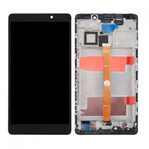 For Huawei Mate 8 LCD Screen and Touch Digitizer Assembly With Frame Black