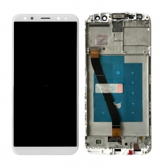 For Huawei Mate 10 Lite LCD Screen and Touch Digitizer Assembly With Frame White