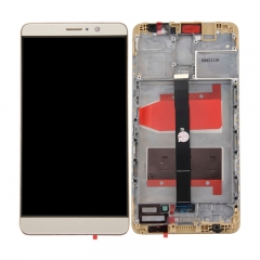 For Huawei Mate 9 LCD Screen and Touch Digitizer Assembly With Frame Gold