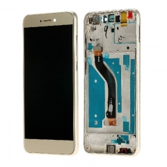 For Huawei P8 / P9 Lite 2017 LCD Screen and Touch Digitizer Assembly With Frame Gold