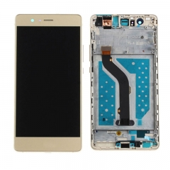 For Huawei P9 Lite LCD Screen and Touch Digitizer Assembly With Frame Gold