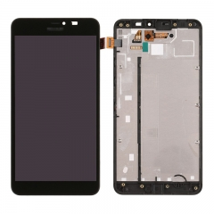 For Nokia 640XL LCD Screen Display Touch Digitizer With Frame Assembly Black