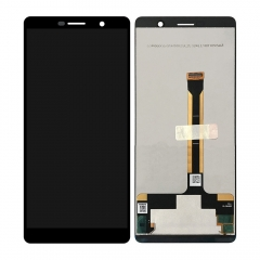 For Nokia 7 Plus 7+ TA-1046 1055 1062 LCD Screen Display Touch Digitizer Assembly Black