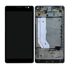 For Nokia Microsoft Lumia 950XL LCD Touch Screen Frame Digitizer Assembly Black