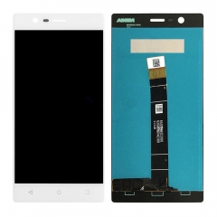 For Nokia 3 LCD Screen Display Touch Digitizer Assembly White