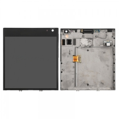 For BlackBerry Passport Q30 LCD Display Touch Digitizer Assembly With Frame