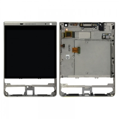 For BlackBerry Passport Silver Edition Q30 2nd LCD Display Touch Digitizer Assembly With Frame