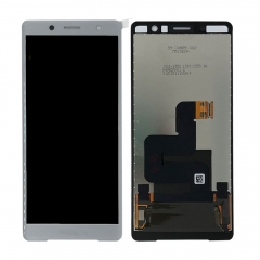 For Sony Xperia XZ2 Compact H8314 LCD Display Touch Screen Digitizer Assembly Silver