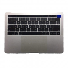For Macbook Pro 13 A1706 Touch Bar 2016 Top Case With US Keyboard Trackpad and Battery Assembly 661-05334 Space Grey Silver
