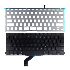 For MacBook Pro Retina 13 A1425 2012-2013 US Keyboard With Backlight