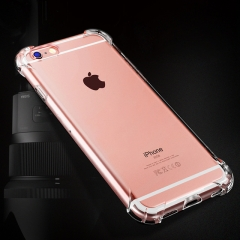 For iPhone Airbag DropProof Soft Case Clear Transparent Cover