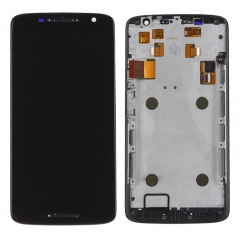 For Moto X Play XT1562 XT1563 LCD Display Touch Screen Assembly With Frame Black