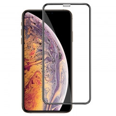 For iPhone XS Tempered Glass Screen Protector 9H 2.5D High Clear With Retail Box