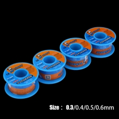 MECHANIC Rosin Core Solder Wire Soldering Tin 40g 0.3/0.4/0.5/0.6mm Sn63% Pb37% Low Melting Point BGA Welding Tools