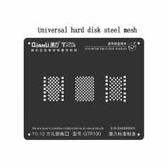 New Square Hole Black Reball Stencil Universal Steel Mesh For iPhone Universal Hard Disk mMdule Plant Tin Network