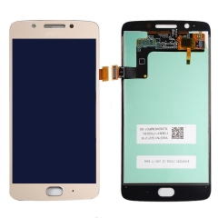 For Motorola Moto G5 XT1670 XT1671 XT1677 LCD Screen Display Touch Digitizer Assembly Gold