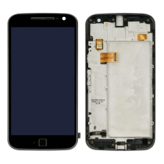 For Motorola Moto G4 Plus XT1644 XT1643 LCD Display Touch Screen Digitizer With Frame Assembly Black