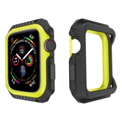 For Apple Watch iWatch Series 4 Ultra Thin Protective Case Cover Bumper Two-tone Color with Packing