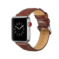 For Apple Watch 38mm 42mm Leather Band Wristwatch Strap