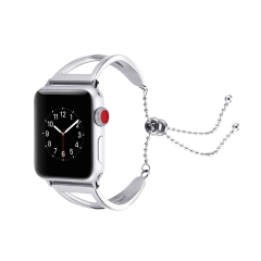 For Apple Watch Strap 38 42mm Stainless Steel Wrist Bracelet Strap Metal Watch Band