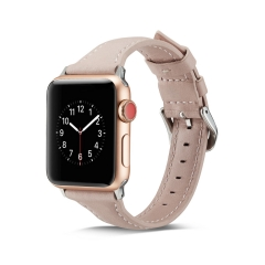 For Apple Watch 38mm 42mm Leather Band Watch Band