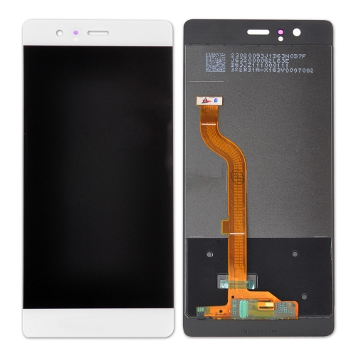 For Huawei P9 EVA-L09 LCD Screen Display Tough Digitizer Assembly White