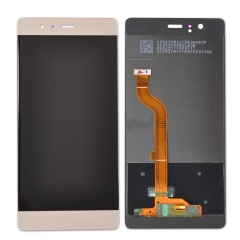 For Huawei P9 EVA-L09 LCD Screen Display Tough Digitizer Assembly Gold