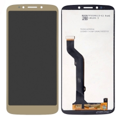For Motorola Moto E5 Plus XT1924 LCD Display Touch Screen Digitizer Replacement Gold