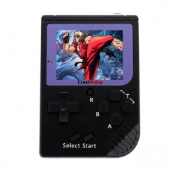 Coolbaby RS-6 Retro Portable Mini Handheld Console 8-bit 2.0 Inch LCD Color Kids Game Built-in 129 Games
