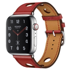 For Apple Watch Leather Watch Band
