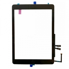 For iPad 6 2018 A1893 A1954 Touch Screen Digitizer With Home Button and Adhesive Assembly Black Original