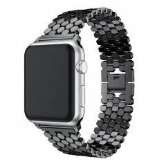 For Apple Watch Band 38mm 42mm 40mm 44mm Stainless Steel Strap Link Bracelet Band