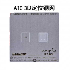 Qianli For A10 3D Version of 0.1mm 0.12mm Multi-purpose BGA Reboiling Stencil Template