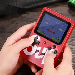 SUP Mini Handheld Video Game Console Portable Retro 8 bit FC MODEL FOR FC can Sore 400 in 1 AV GAMES Color LCD Game Player