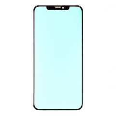 For iPhone Xs Max Front Glass Lens Black