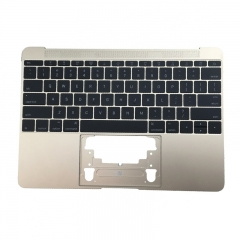 "For MacBook 12"" A1534 Keyboard Topcase Replacement US 2016 Gold"