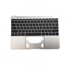 "For MacBook 12"" A1534 Keyboard Topcase Replacement US 2016 Silver"