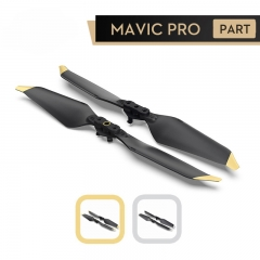 8331 Propeller Low-Noise Quick-Release Propellers Golden Silver For Mavic Pro Platinum