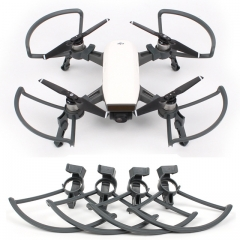 4X Propeller Guards with Foldable Landing Gears Stabilizers For DJI Spark