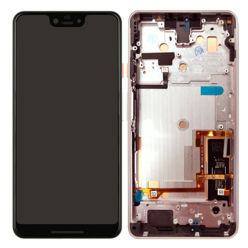 For Google Pixel 3 XL Display LCD Touch Screen Digitizer Assembly With Frame Pink