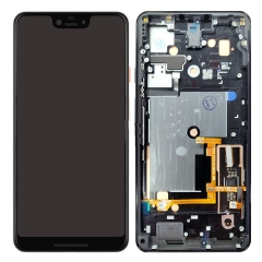 For Google Pixel 3 XL Display LCD Touch Screen Digitizer Assembly With Frame Black