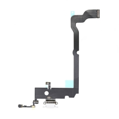 For iPhone XS Max Charging Port Dock Connector Flex Assembly White
